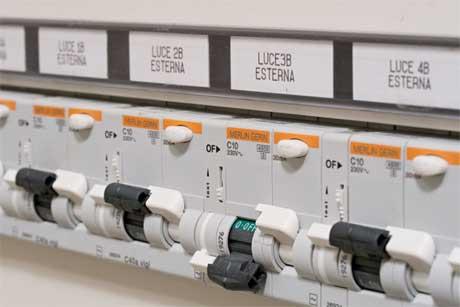 Impianto elettrico a norma - Quadro elettrico casa a norma ...