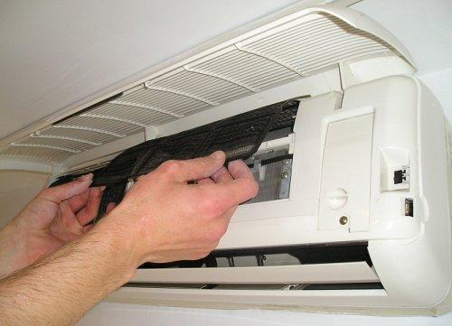 pulire filtri condizionatori domestici